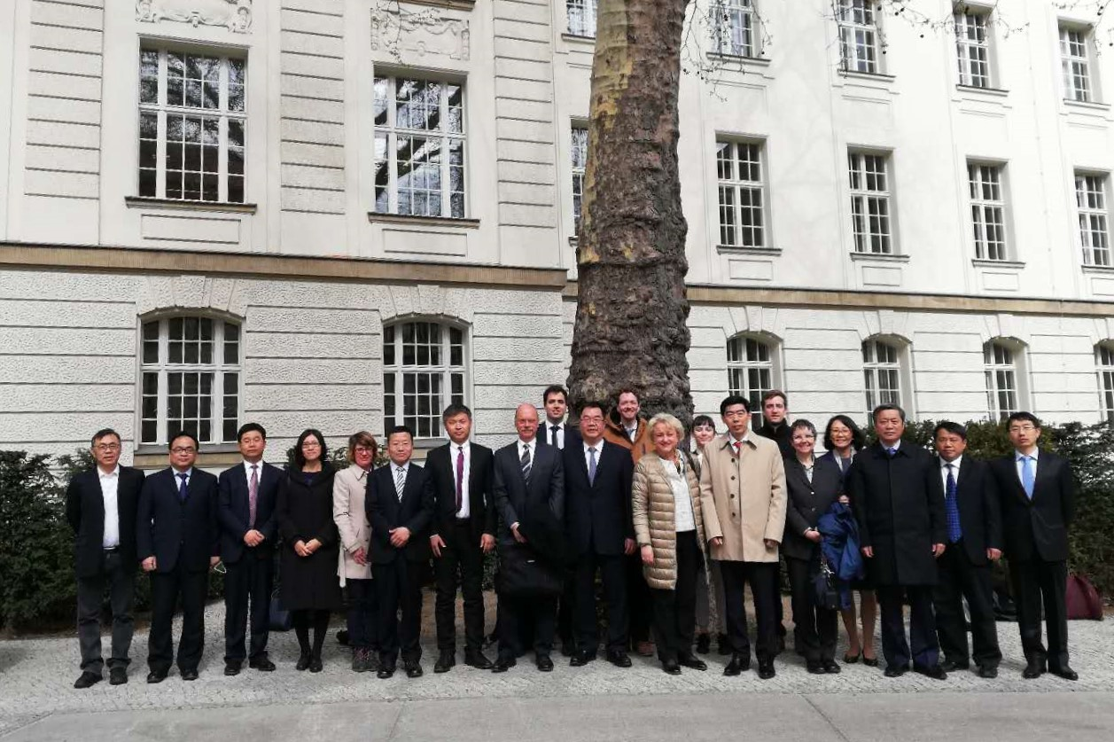"Participants of the fifth Sino-German working group ""Energy Efficiency"" meeting, ©GIZ"