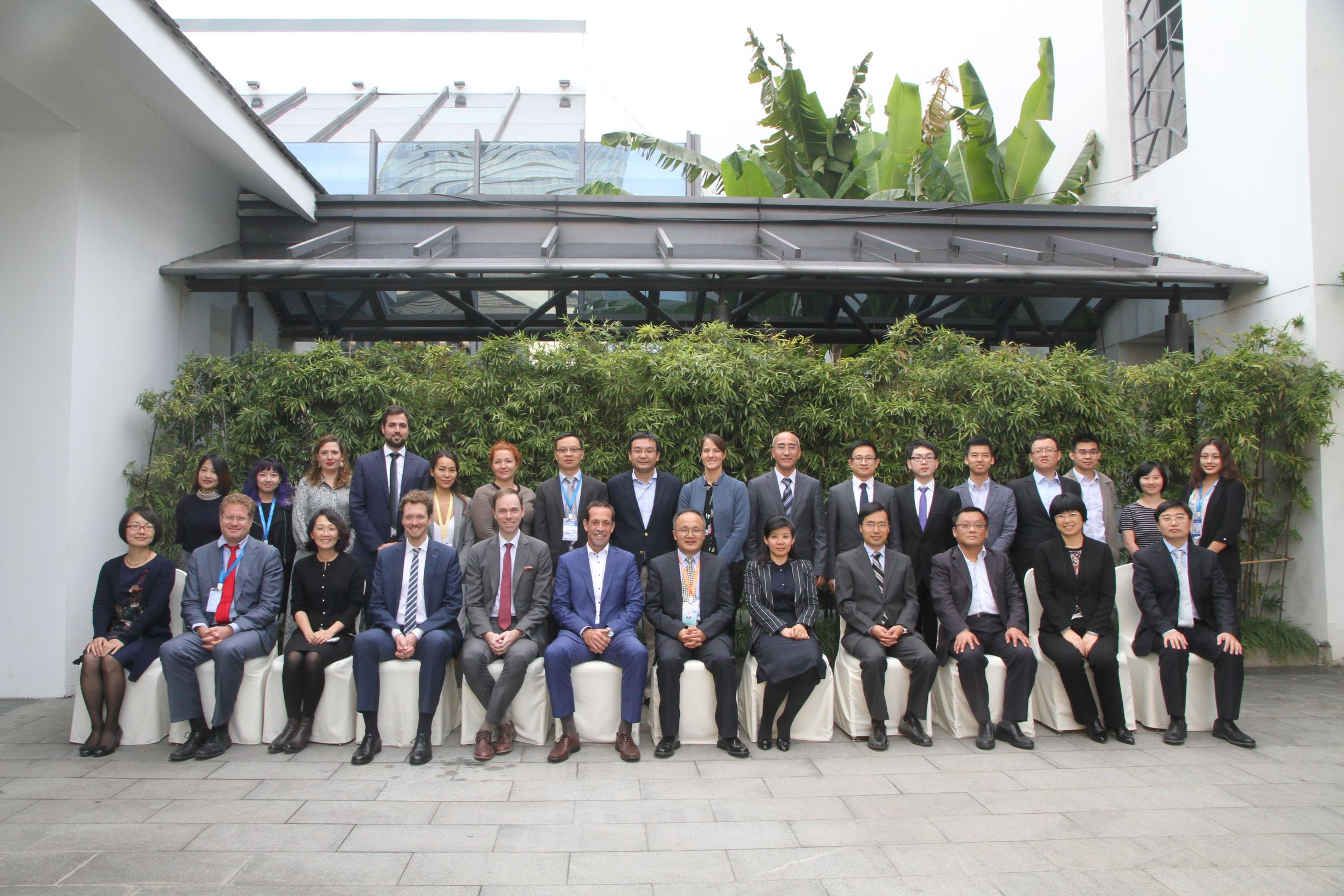 Participants of the 7th Meeting of the Sino-German Working Group on Energy, ©NEA