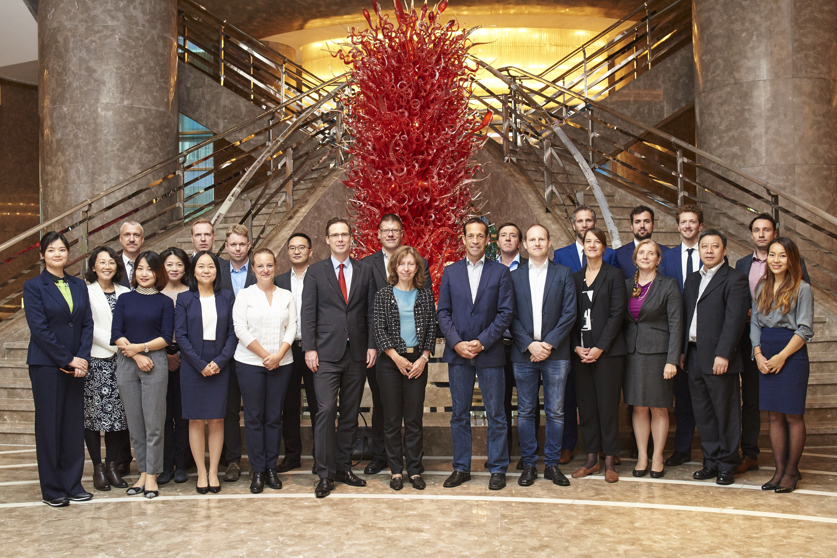 Group Photo of the Participants at the 2nd Meeting of the German Local Business Advisory Council